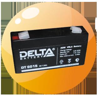 Аккумуляторы для ККМ и электронных весов